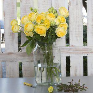 זר ורדים אנגלי